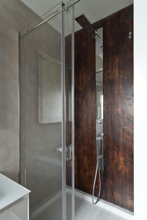 Due bagni e una cucina mumble mumble - Pareti doccia in resina ...