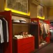 Pannelli decorativi, negozio abbigliamento uomo.