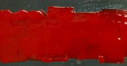 mumble-mumble-resina-rosso su lamiera