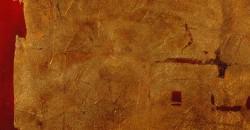 mumble-mumble-resina-spatolato-decoro foglia oro e rosso
