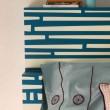 Testiera per letto particolare mini comodino